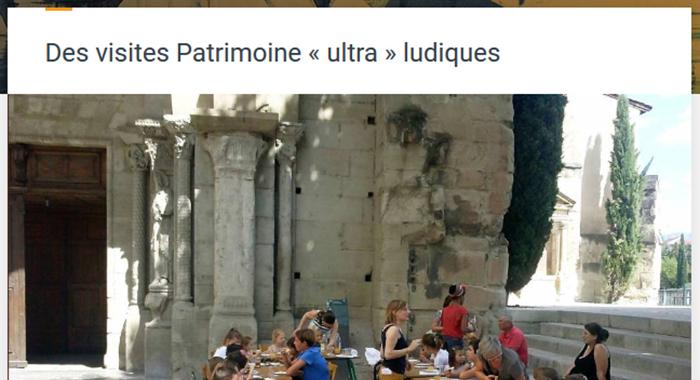 Romans Mag, 22 août 2017 : Des visites Patrimoine «ultra» ludiques