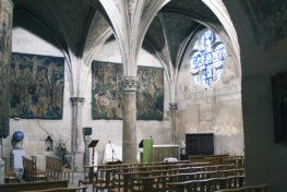 La chapelle du Saint-Sacrement de la collégiale Saint-Barnard